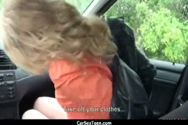 Cumshot no carro para o amigo de minha esposa parte 3.
